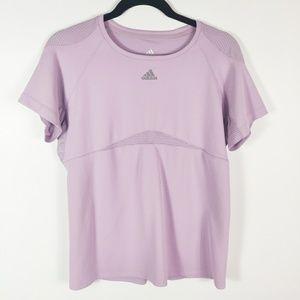 Adidas Purple Athletic Shirt Large